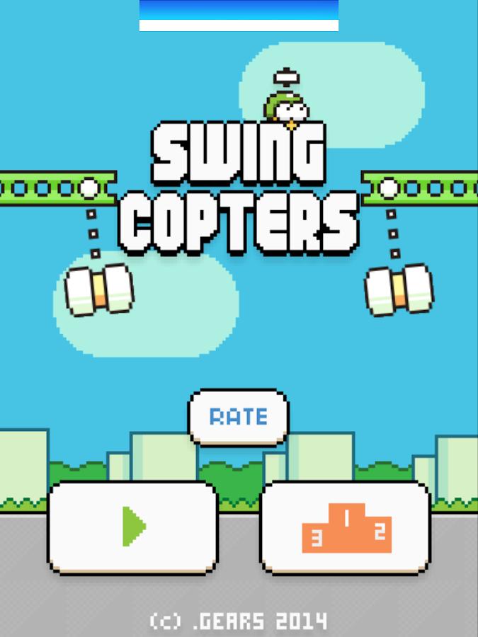 Swing Copters - screenshot