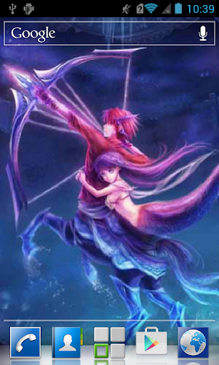 Anime centaur and mermaid LWP