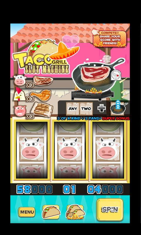 Taco Grill Slot Machine - screenshot