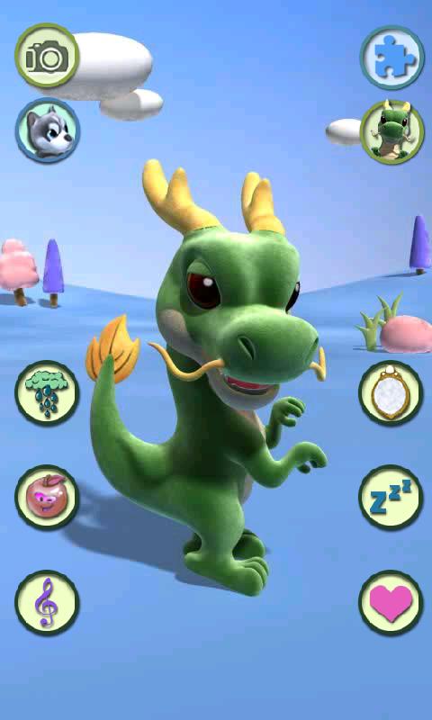 Talking Dragon - screenshot
