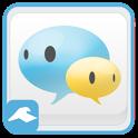 카카오톡 테마 - 네이트온UC 테마 : 픽스토리스튜디오 icon