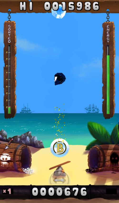 Pirate Diamonds- screenshot