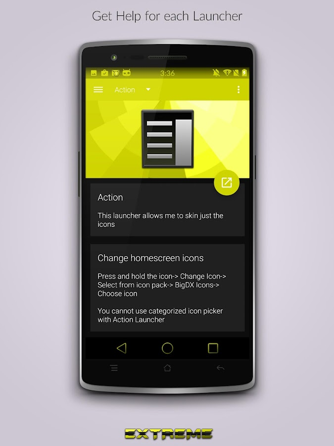 JB Extreme Launch Theme Yellow - Android Apps on Google Play