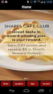 Shari's Cafe Club- screenshot thumbnail