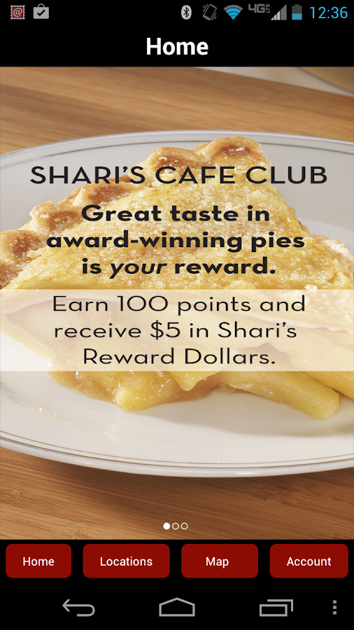 Shari's Cafe Club- screenshot