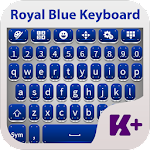 Royal Blue Keyboard Theme 2.0 Apk