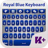 Royal Blue Keyboard Theme