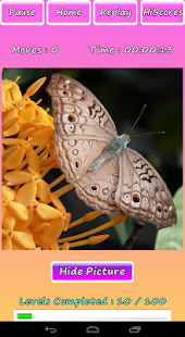 Butterfly Photo Puzzle Screenshot 10