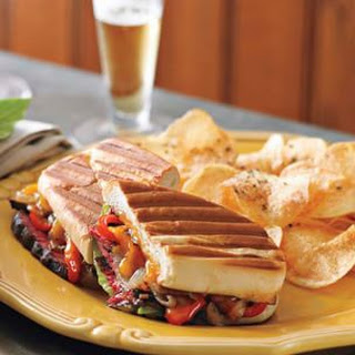 Smoked Steak and Cheddar Panini