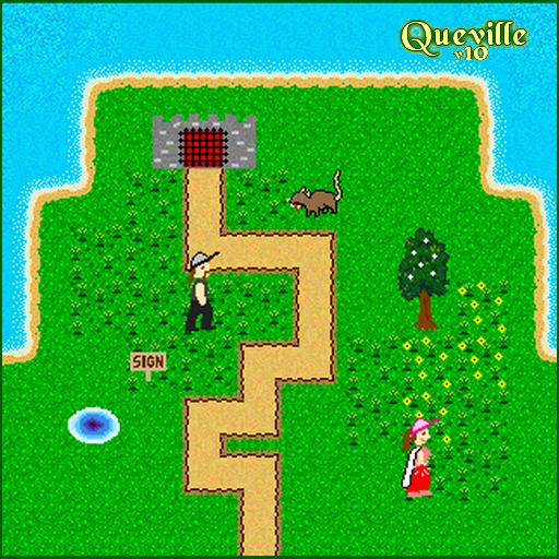 Queville v10 LOGO-APP點子