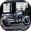 Motorcycle Harley HD Wallpaper icon