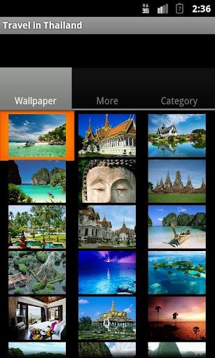 Travel in Thailand