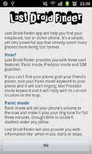 Lost Droid Finder · Lost Phone - screenshot thumbnail