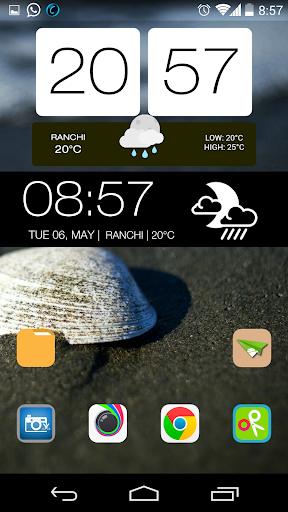 HTC WEATHER ZOOPER SKIN