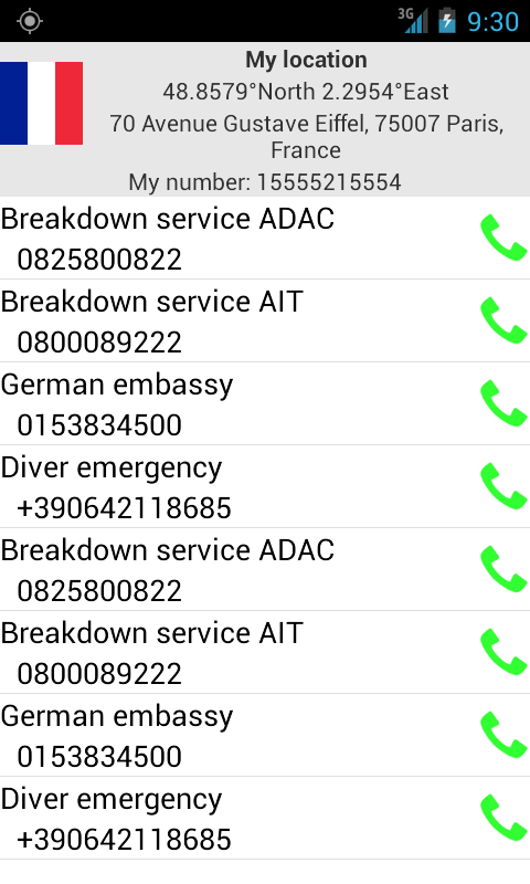 Mobile emergency call - Android Apps on Google Play