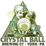 Logo for Crystal Ball Brewing Company