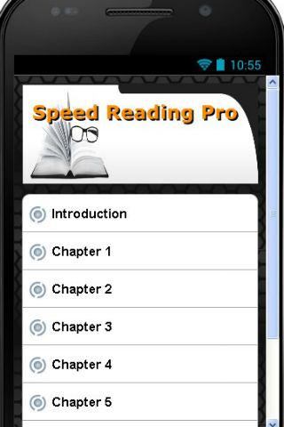 Speed Reading Pro App