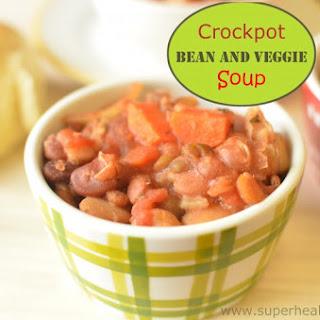 Crockpot Rice and Bean Soup