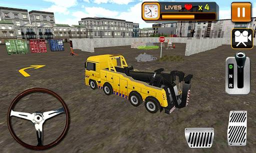 3D Construction Crane Driver