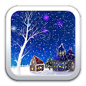 Romantic Snow Live Wallpaper. icon