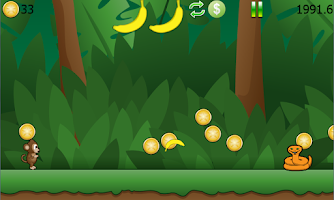 Screenshot of Ricky Monkey Runner Free