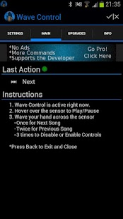 Wave Control Screenshot 1