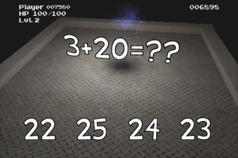 Math Games Flash Battle Arena