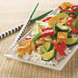 Coconut-Curry Tofu Stir-Fry.