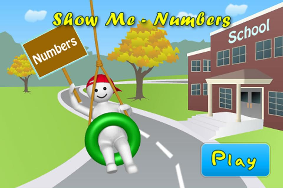 Show Me Numbers-Autism Series - screenshot