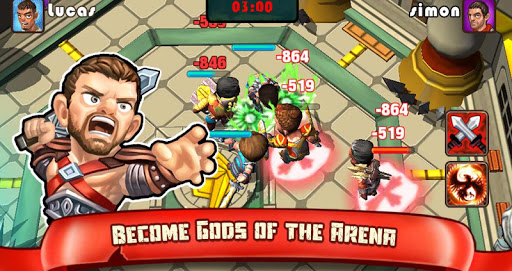 【免費角色扮演App】Gladiators: Call of Arena-APP點子