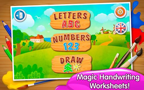 ABC Handwriting Worksheets