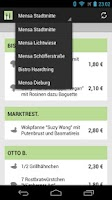 Screenshot of Mensa - TU/HS Darmstadt