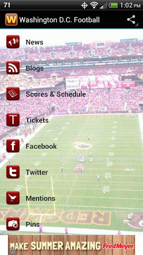 免費運動App|Washington D.C. Football|阿達玩APP