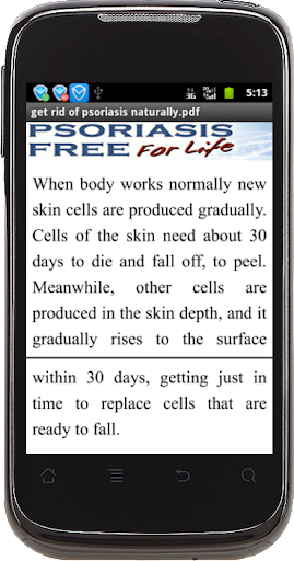 get rid ofs naturally