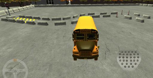 School Bus License 3D