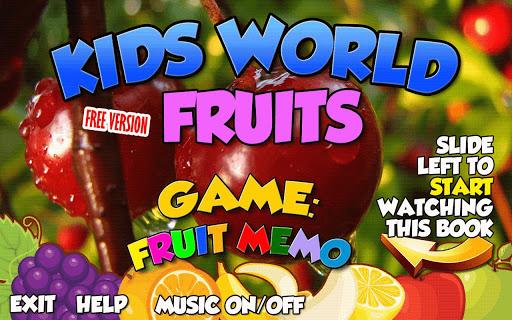 Kids World: Fruits