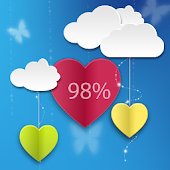 Love Test with Hearts
