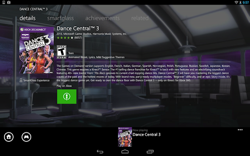 Xbox 360 SmartGlass Screenshot 15