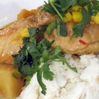 Martinique Coconut Chicken Curry