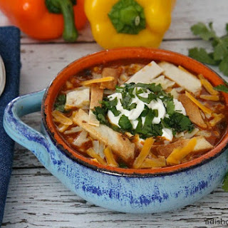 Fiesta Chicken Enchilada Soup