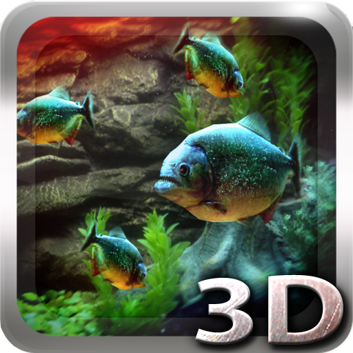 Piranha Aquarium 3D lwp app for Android