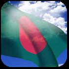 3D Bangladesh Flag icon
