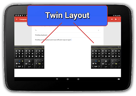 FlickKey Keyboards for Android - screenshot thumbnail