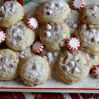 Peppermint Dream Butter Cookies