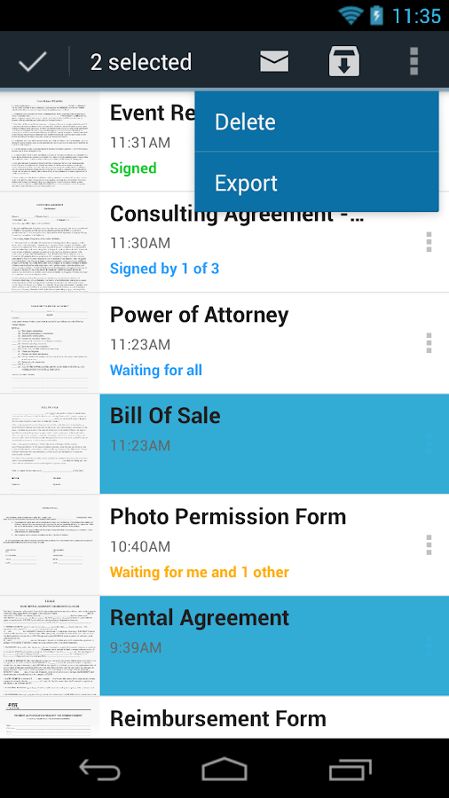 SignNow Sign & Fill Documents - screenshot