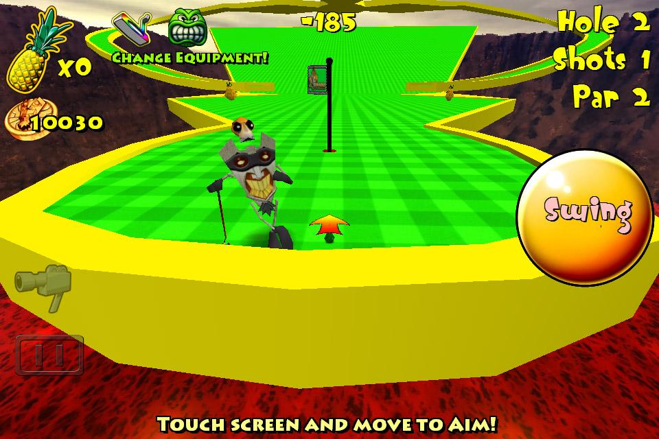 Tiki Golf Adventure Island - screenshot
