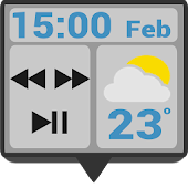 Play Cards Glass Zooper Widget