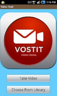 Vostit Video email- screenshot thumbnail