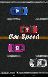 Car Speed - screenshot thumbnail