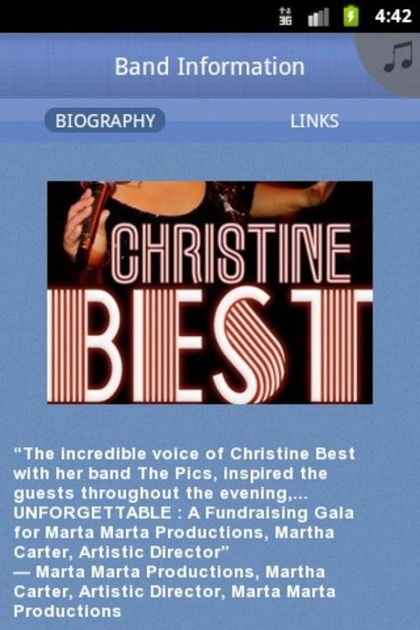 Christine Best & The Pics - screenshot